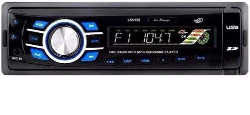 Reproductor Carro Koonga Lkn-100 Musica Usb Radio Mp3 Radio