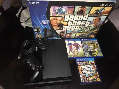 Vendo ps4 500gb 5 juegos precio de oferta leer descripción