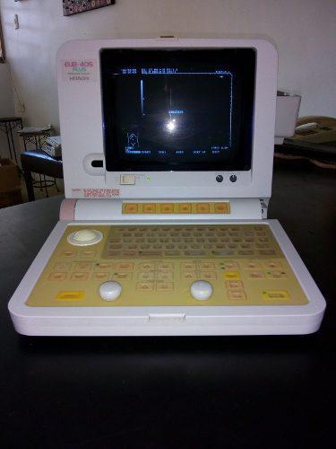 Equipo de ecografia portatil marca hitachi sin traductor