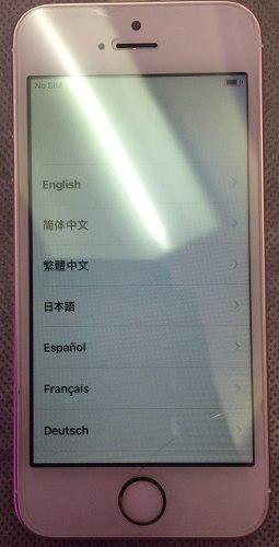 Iphone se rosa gold 16gb 4g lte usado (180)