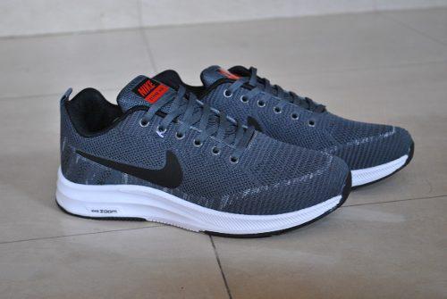 Kp3 zapatos caballeros nike air zoom gris negro