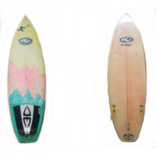 Tabla de surf para niños nobrega 5'4 quillas/ somos oficina