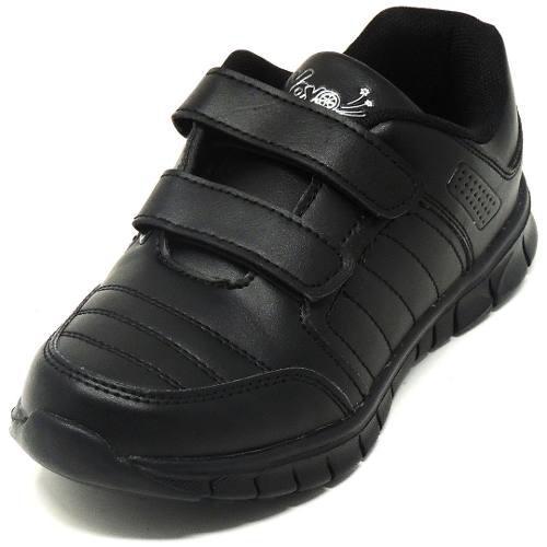 Zapatos deportivos escolares yoyo unisex 14151v negros 24-31