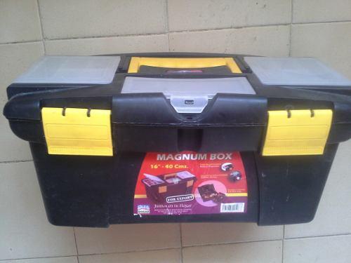 Caja de herramientas alfa hogar 16 pulg 40 cm