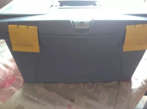 Caja de herramientas plástico 23 pulgadas marca alfa hogar