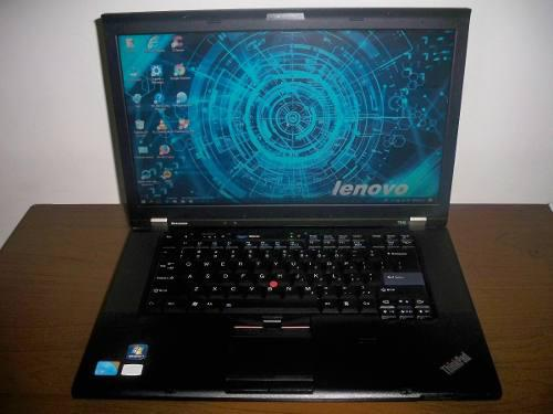 Laptop lenovo t510, intel core i5 2.4ghz 4gb ram 320 disco