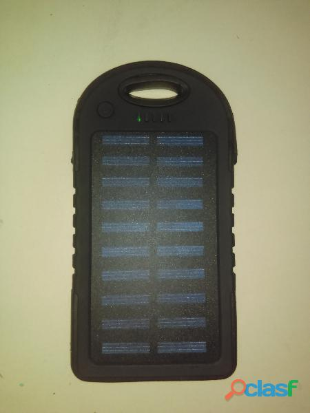 Power bank solar cargador portatil