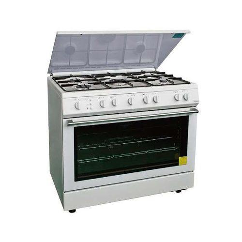 Cocina 5 hornillas / horno / encendido electrico / gas