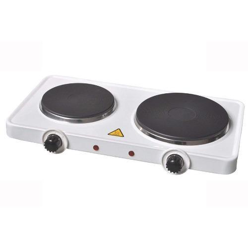 Cocina electrica portatil de 2 hornillas cnzidel 110v 2000w
