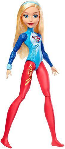 Muñeca dc super hero girls superchica supergirl gimnasta
