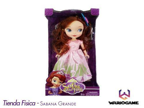 Muñeca princesa sofia juguete niñas somos tienda