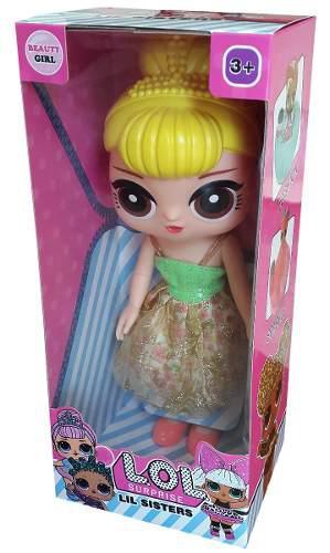 Muñecas lol surprise 30 cm lil sisters juguete niña
