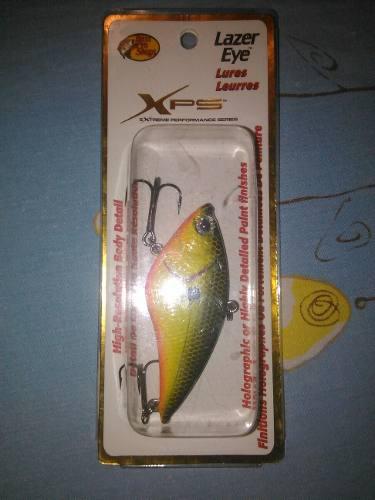 Señuelo de pesca bass pro shop xps lazer eye