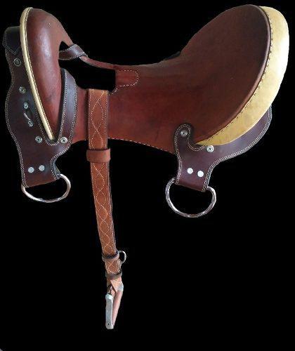 Silla de coleo caballos aperos