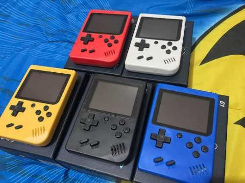 Consola portátil game boy 400 juegos tienda física chacao
