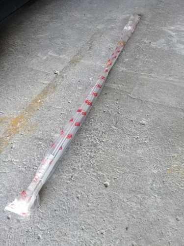 Cortineros de rieles en aluminio blanco nuevos