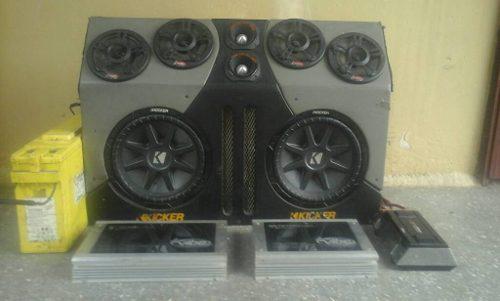 Equipo de sonido para camionetas completos oferta