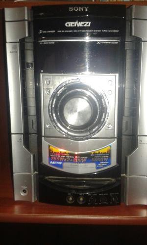 Equipo de sonido sony genezi 8000w