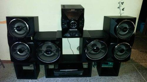 Equipo de sonido sony mhc-gpx88 con microfonos sn-368a sony