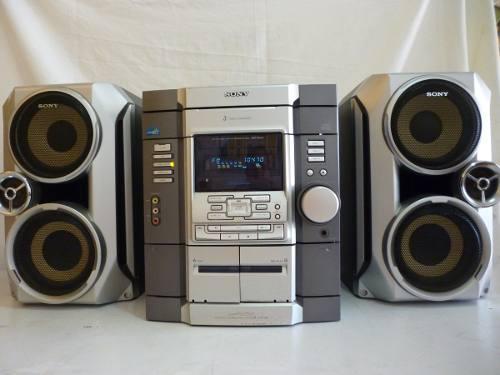 Equipo de sonido sony modelo hcd rg 33 usado
