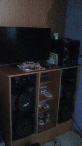 Equipo sonido sony genesi,tv jvc 32 pulgada con control
