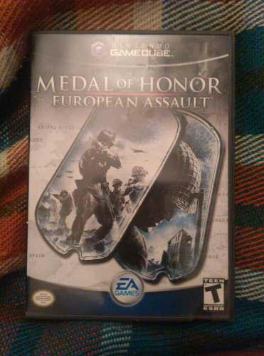Juego game cube medal of honor