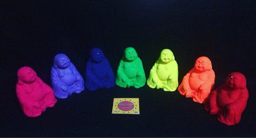 Budas de la fortuna colección 7chakras en neon