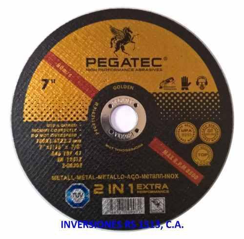 Disco corte extrafino 7 metal-acero inox pegatec detal/mayor