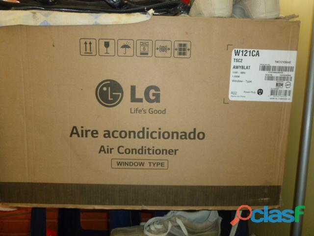 Aire acondicionado lg w121ca nuevo.