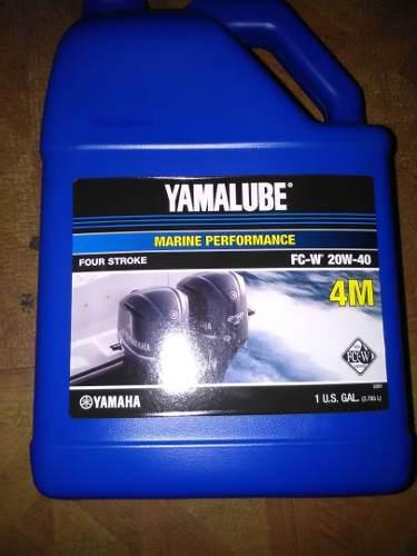 Aceite 4 tiempos yamalube 20w/40 motor fuera de borda