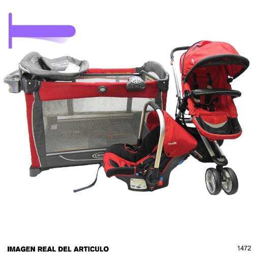 Corral cuna graco coche y portabebe cute babies en combo