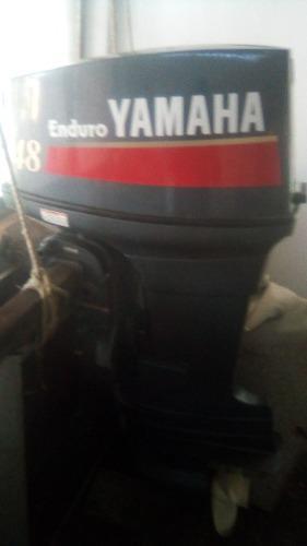 Motor fuera de borda yamaha 48 hp pata larga