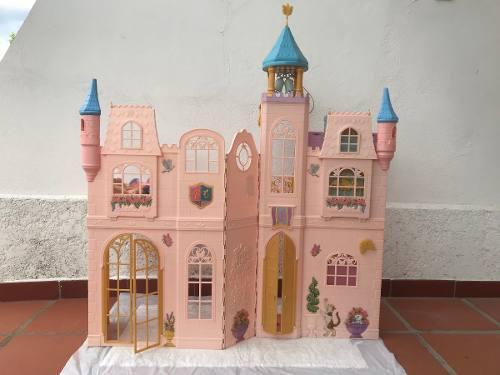 Castillo de barbie princesa con campanario musical
