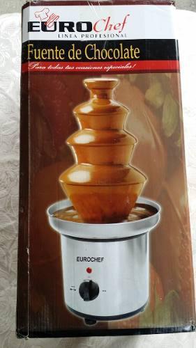 Fuente De Chocolate Eurochef 3 Niveles