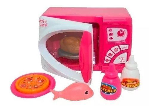 Microondas de juguete, niñas didactico oferta rosado