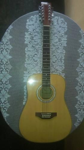 Guitarra acustica fretmaster 12 cuerdas