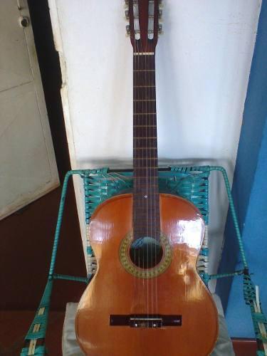 Guitarra china marca bestler con forro, como nueva