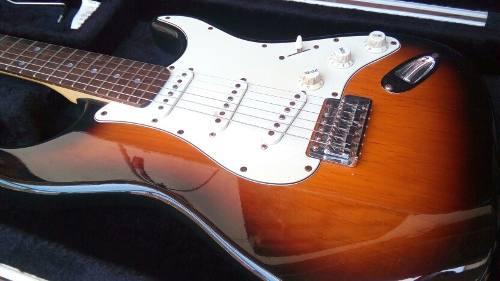 Guitarra electrica aria stratocaster excelente (precio real
