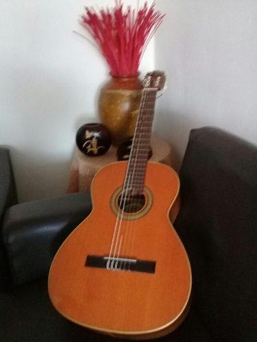 Guitarra vicente tatay española con estuche