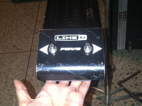 Line 6 fbv2 pedal conmutador de canales