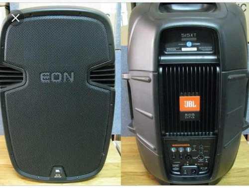 Sonido profesional jbl, cornetas eon 515 xt, bajo eon 518s