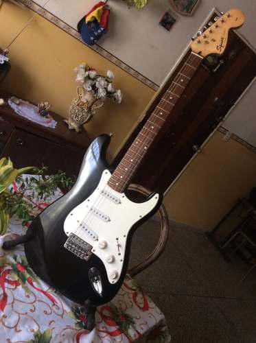 Squier fender affinity stratocaster indonesia
