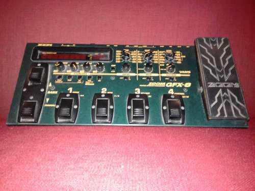 Zoom gfx-8 procesador de efectos para guitarra negociable