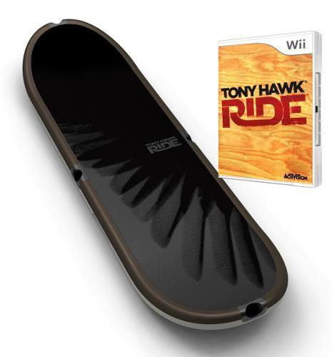 Combo patineta + juego original tony hawk, wii y wii u]