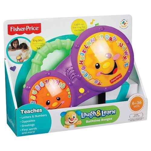 Fisher price bongos interactivos baño de burbujas