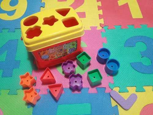 Juego de figuras geométricas fisher price