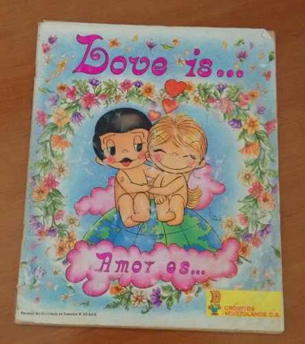 Album vintage 1983 love is... amor es... leer publicacion