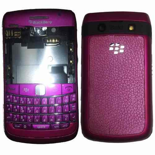 Carcasa completa blackberry bold 2 9700 fucsia nueva