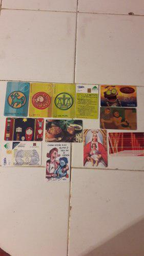 Coleccionistas.. antiguas tarjetas telefonicas cantv