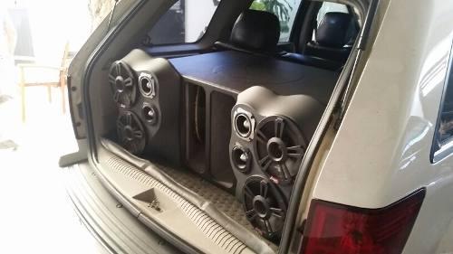 Equipo de sonido para auto carro, completo 100% operativo